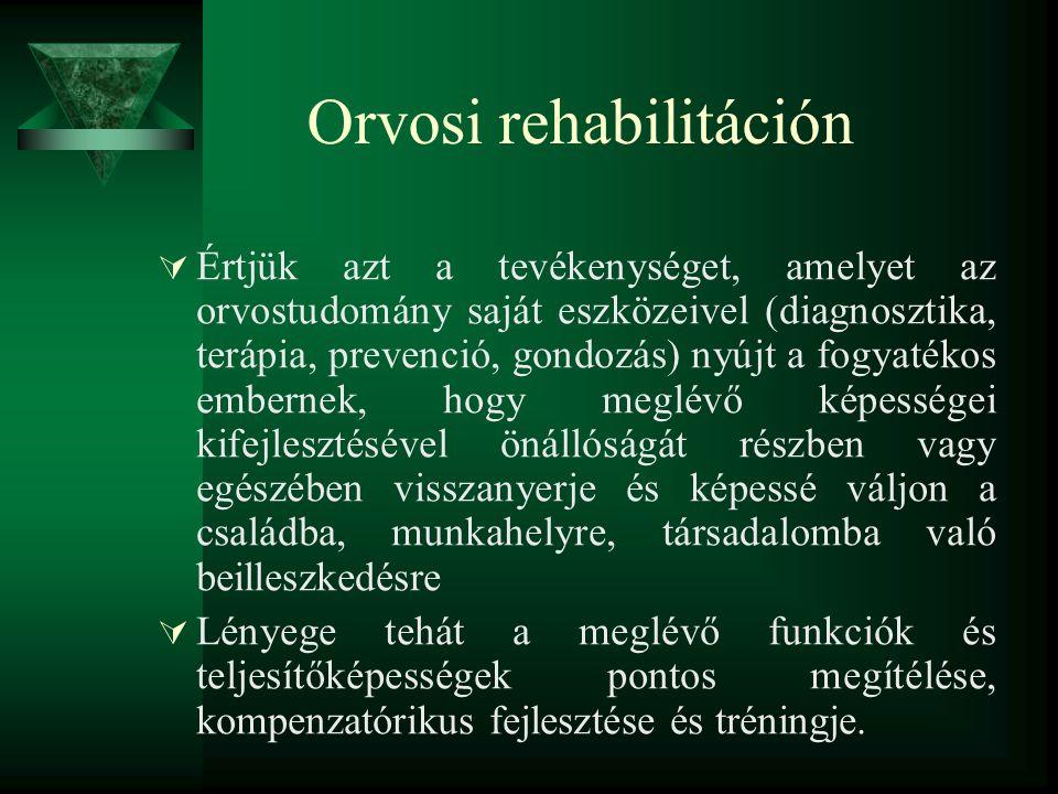 Orvosi rehabilitáción