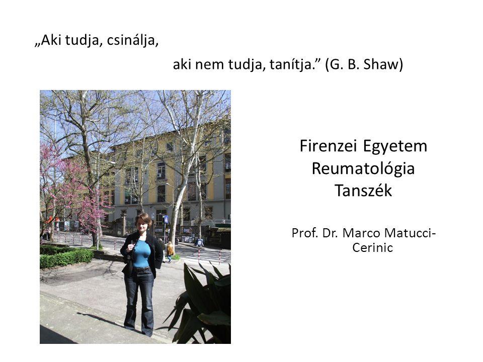 Prof. Dr. Marco Matucci- Cerinic