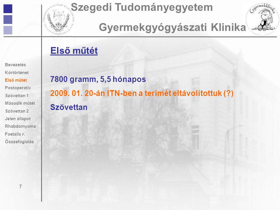 Szegedi Tudományegyetem Gyermekgyógyászati Klinika