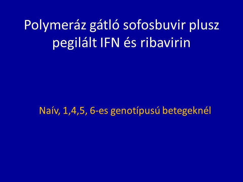 Polymeráz gátló sofosbuvir plusz pegilált IFN és ribavirin