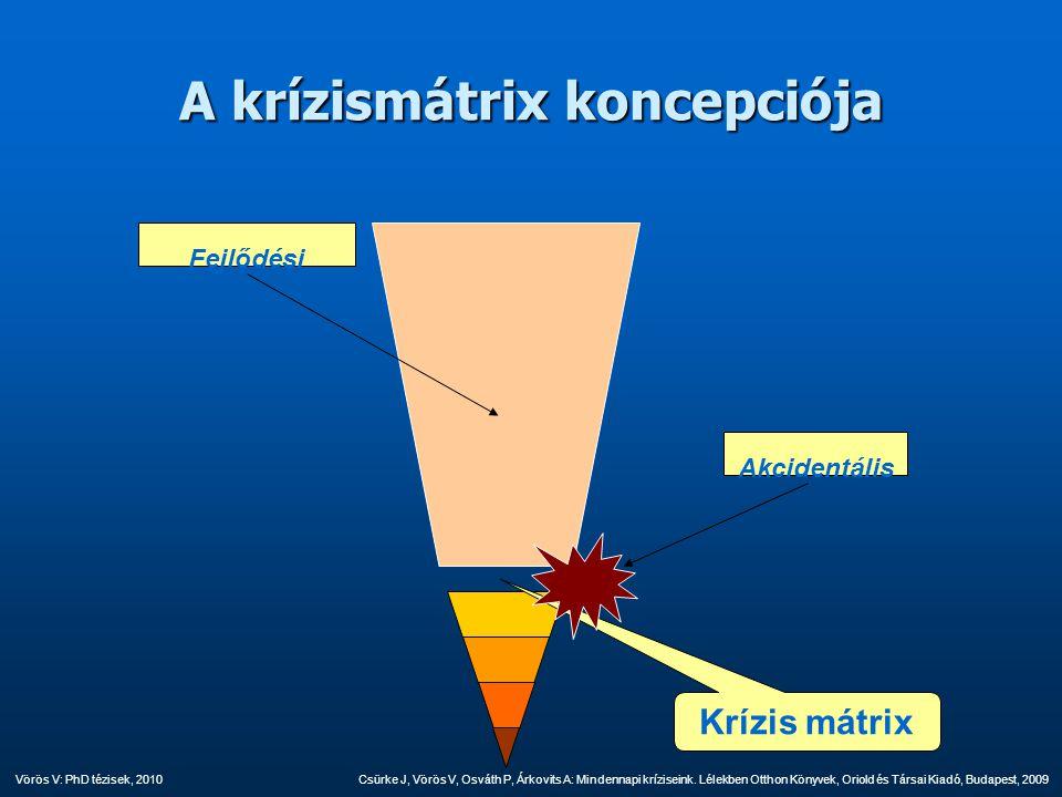 A krízismátrix koncepciója