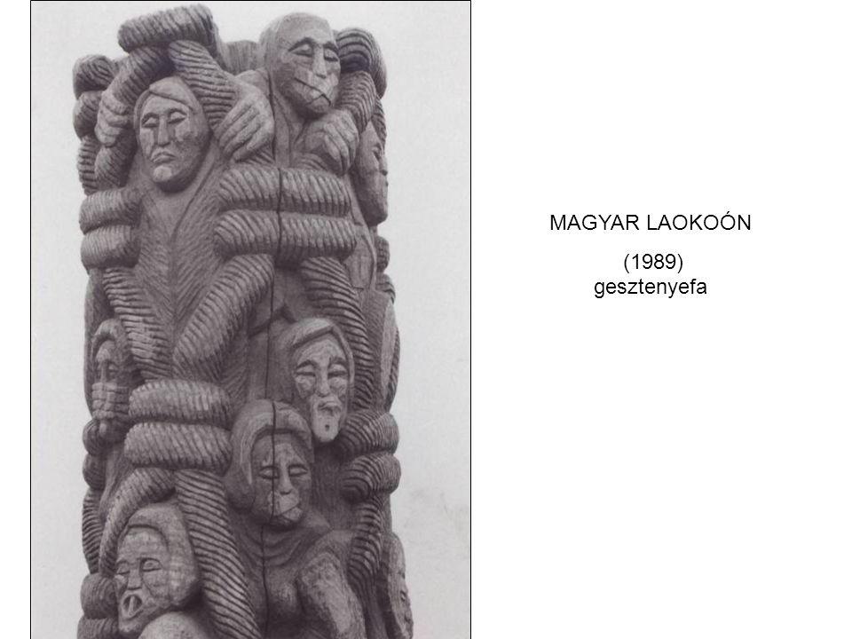 MAGYAR LAOKOÓN (1989) gesztenyefa