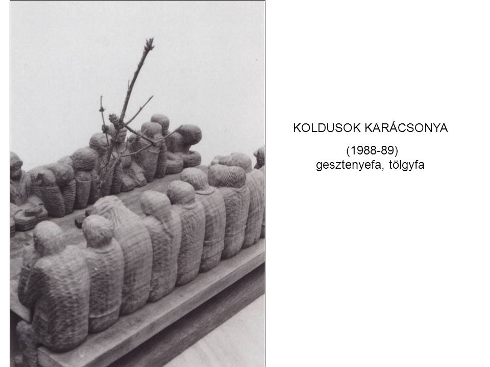(1988-89) gesztenyefa, tölgyfa