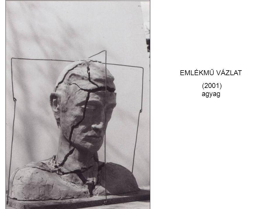 EMLÉKMŰ VÁZLAT (2001) agyag