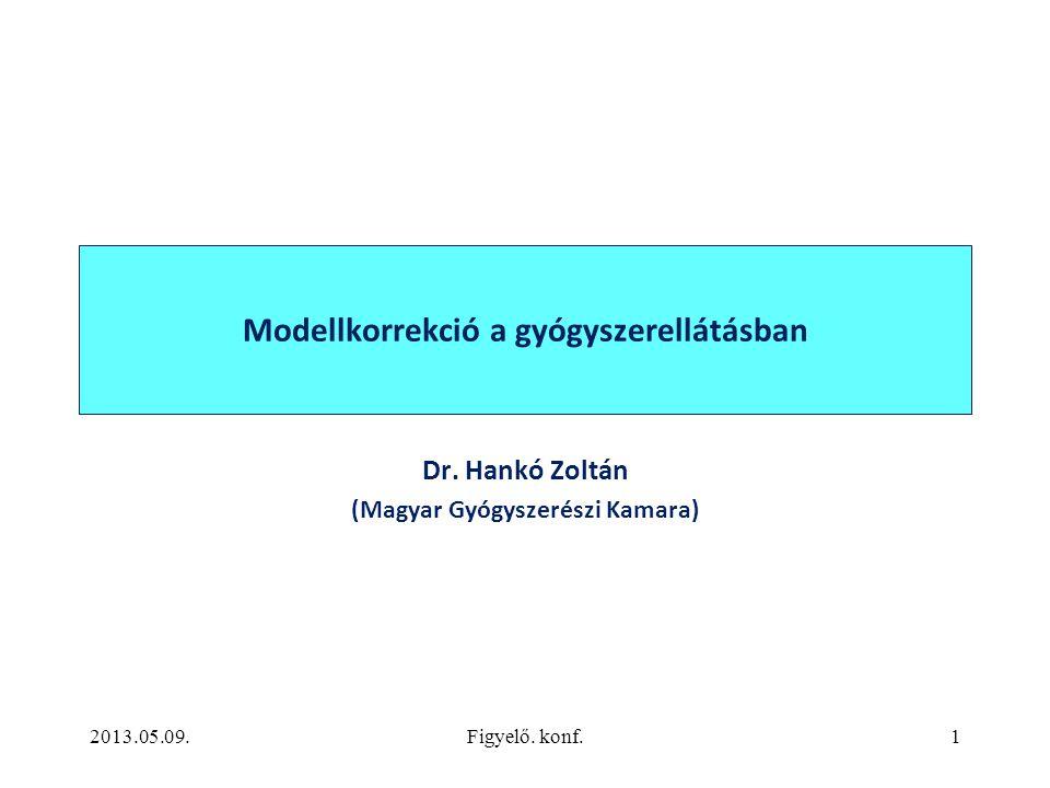Modellkorrekció a gyógyszerellátásban