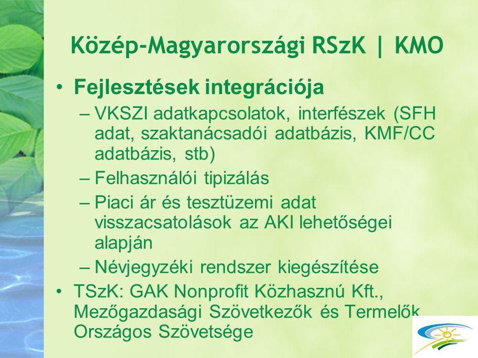 Közép-Magyarországi RSzK | KMO