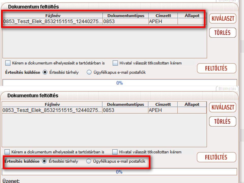 """A felbukkanó ablakban (felső kép) válasszuk ki a feltölteni kívánt állományokat (egyszerre többet is kiválaszthatunk), majd a """"megnyitás (angol operációs rendszer esetén """"open ) gombra kattintva betölthetjük a dokumentumokat. A betöltött dokumentumok megjelennek a feltöltő ablakában."""