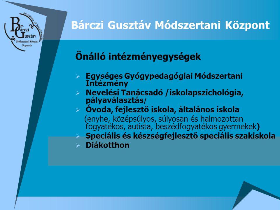 Bárczi Gusztáv Módszertani Központ