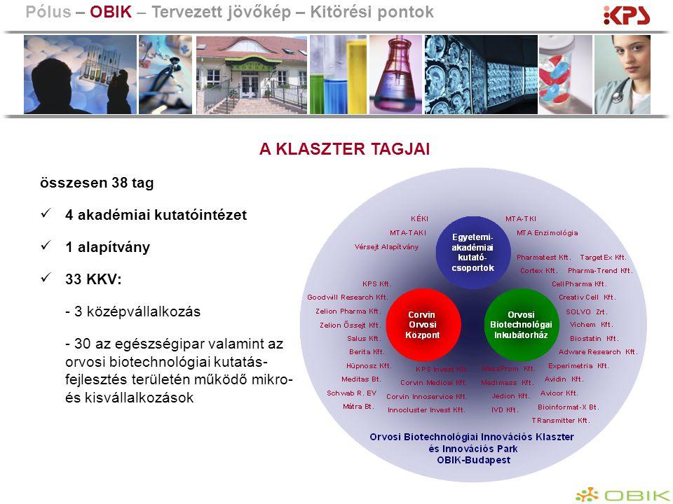 Pólus – OBIK – Tervezett jövőkép – Kitörési pontok