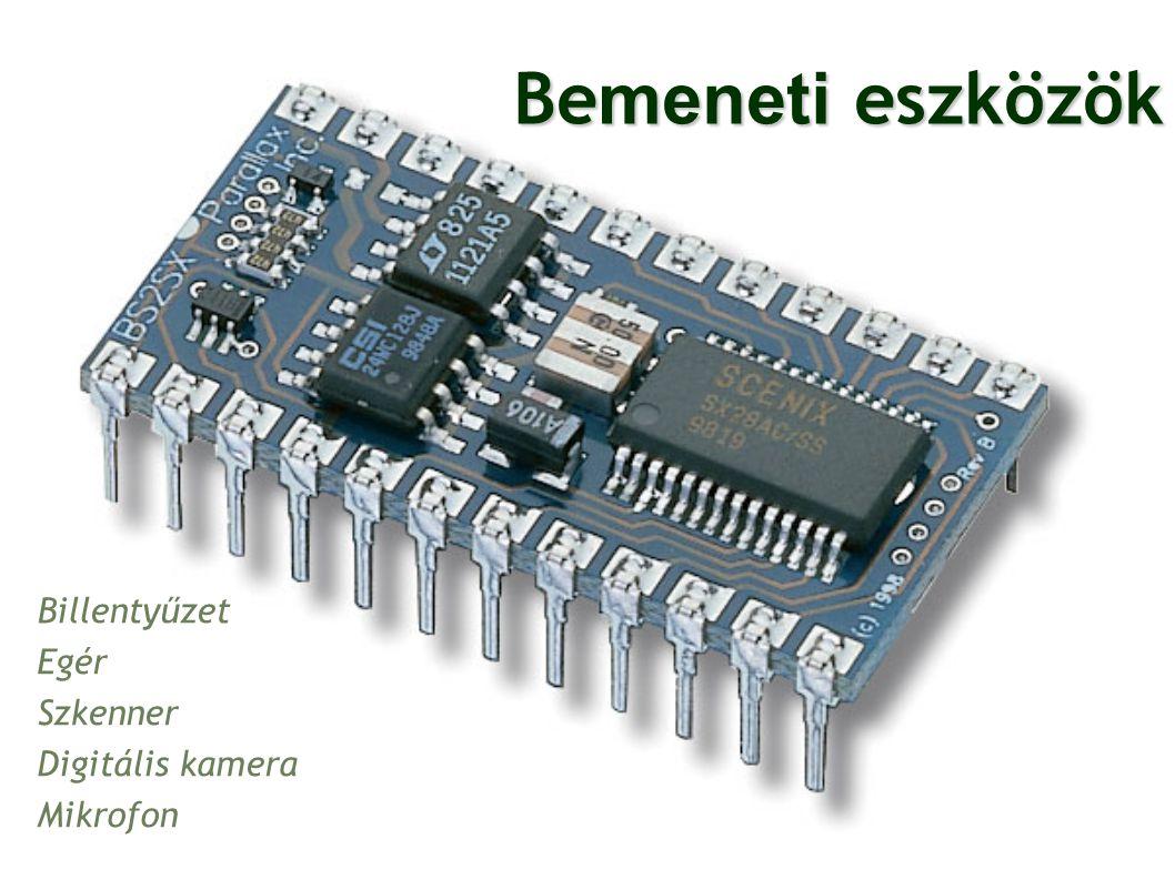 Billentyűzet Egér Szkenner Digitális kamera Mikrofon