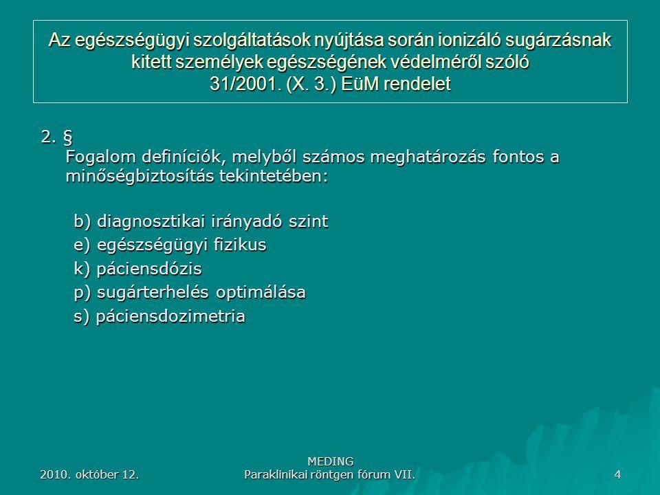 MEDING Paraklinikai röntgen fórum VII.