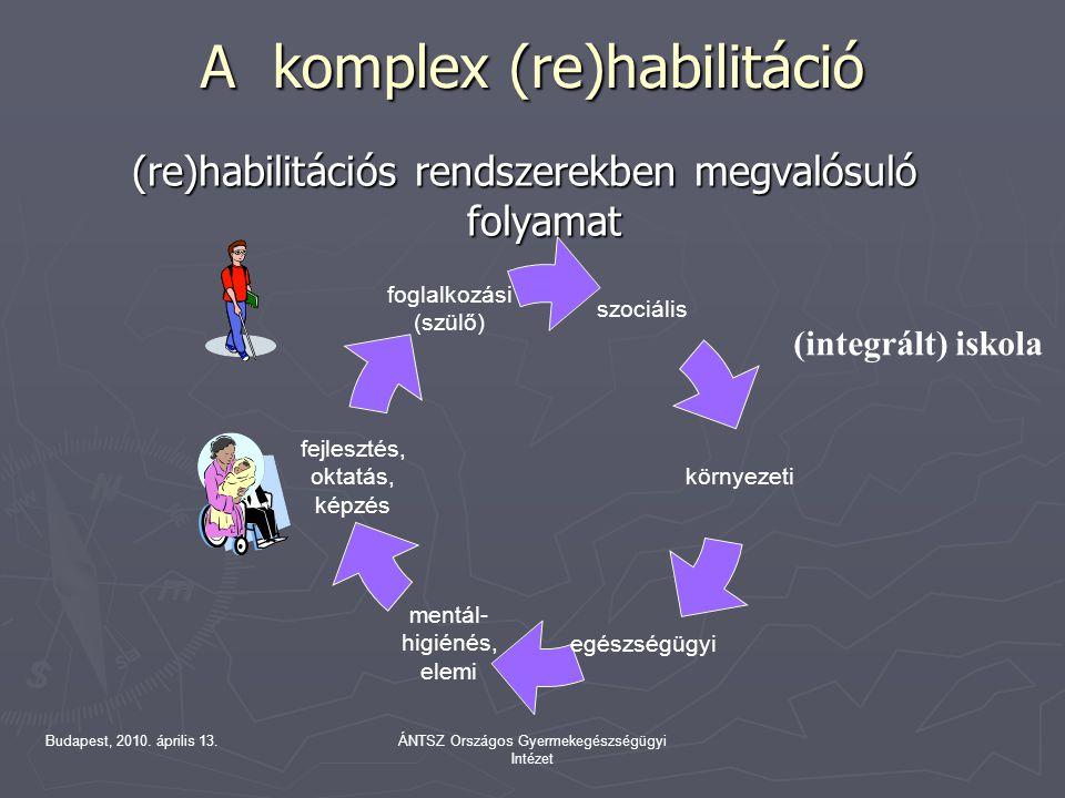 A komplex (re)habilitáció