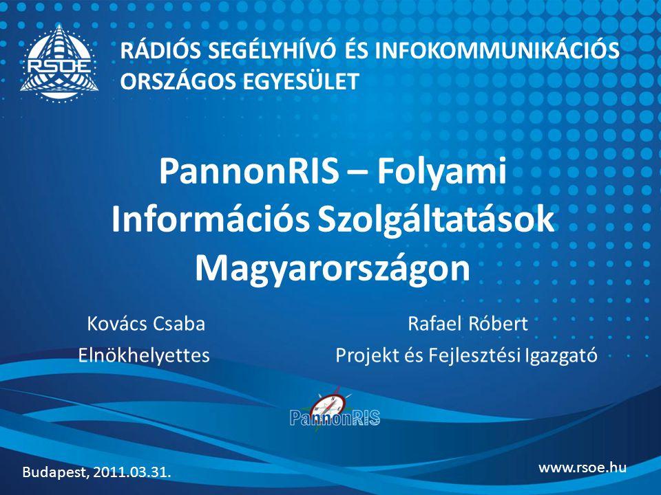 PannonRIS – Folyami Információs Szolgáltatások Magyarországon