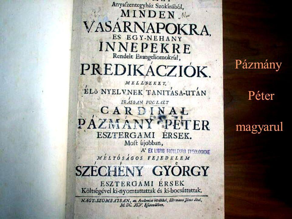 Pázmány Péter magyarul