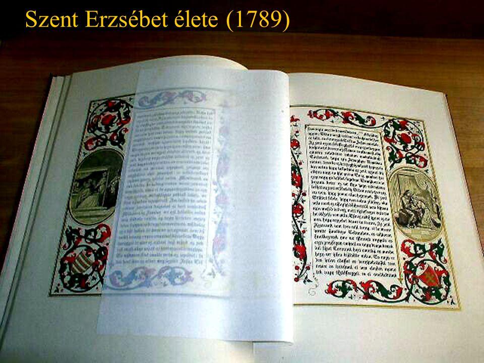 Szent Erzsébet élete (1789)