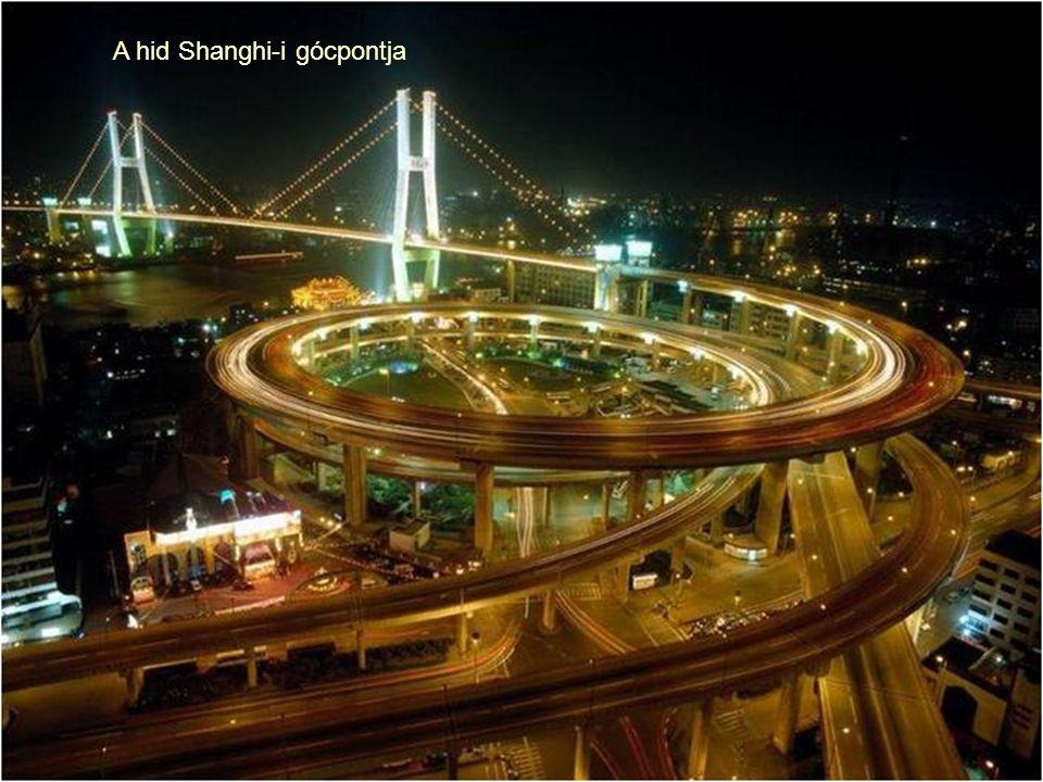 A hid Shanghi-i gócpontja