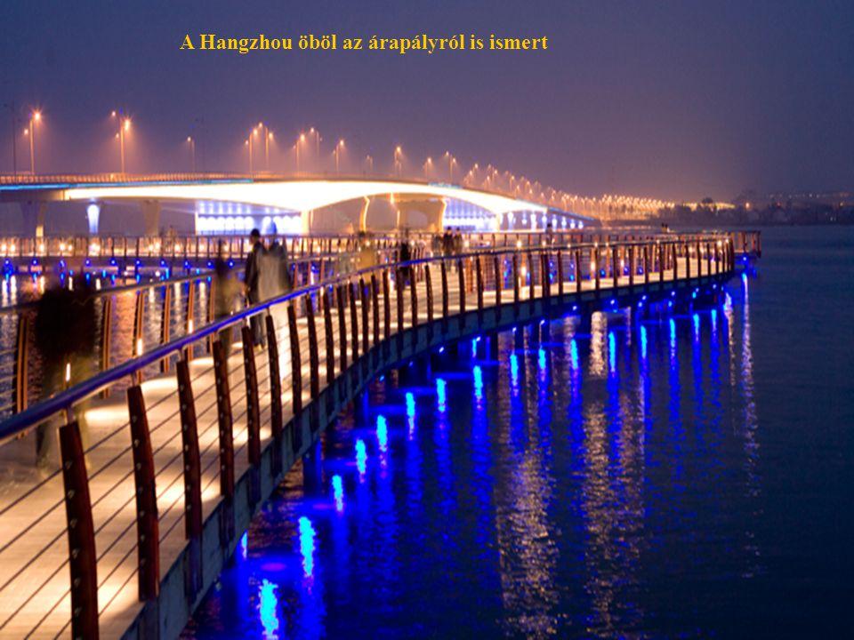 A Hangzhou öböl az árapályról is ismert