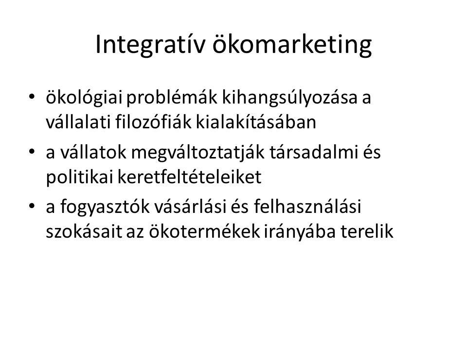 Integratív ökomarketing