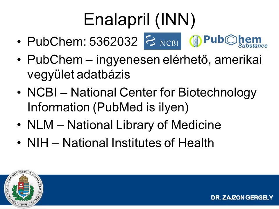 Enalapril (INN) PubChem: 5362032