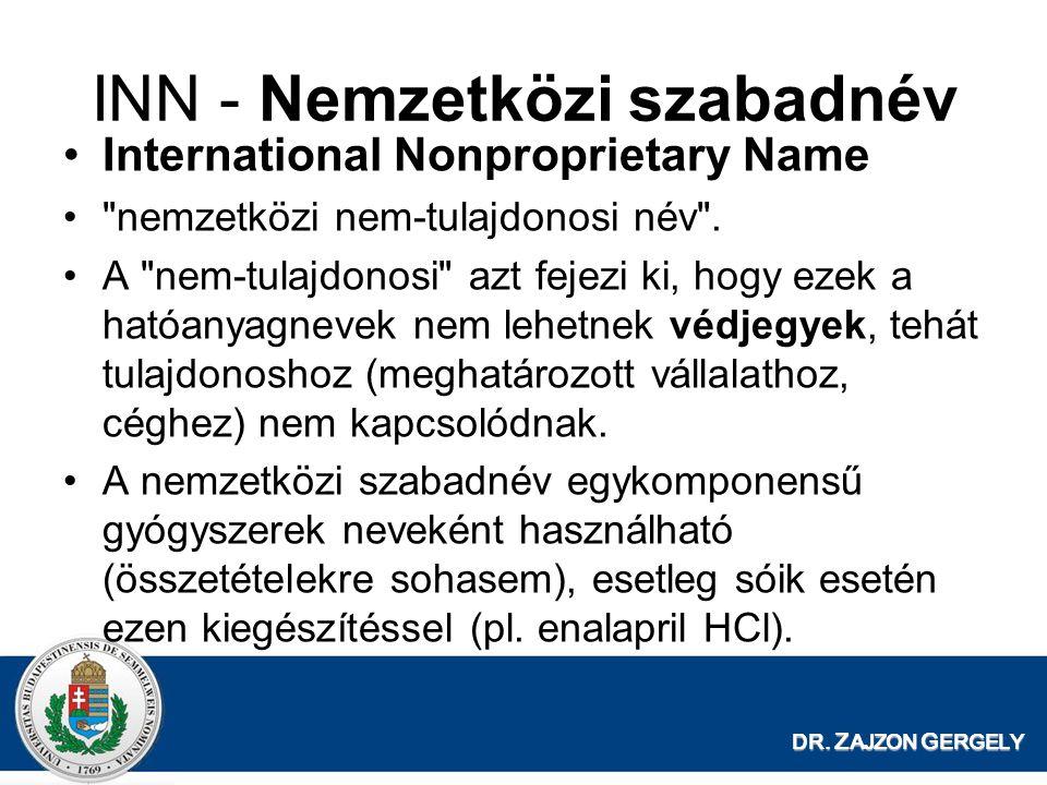 INN - Nemzetközi szabadnév