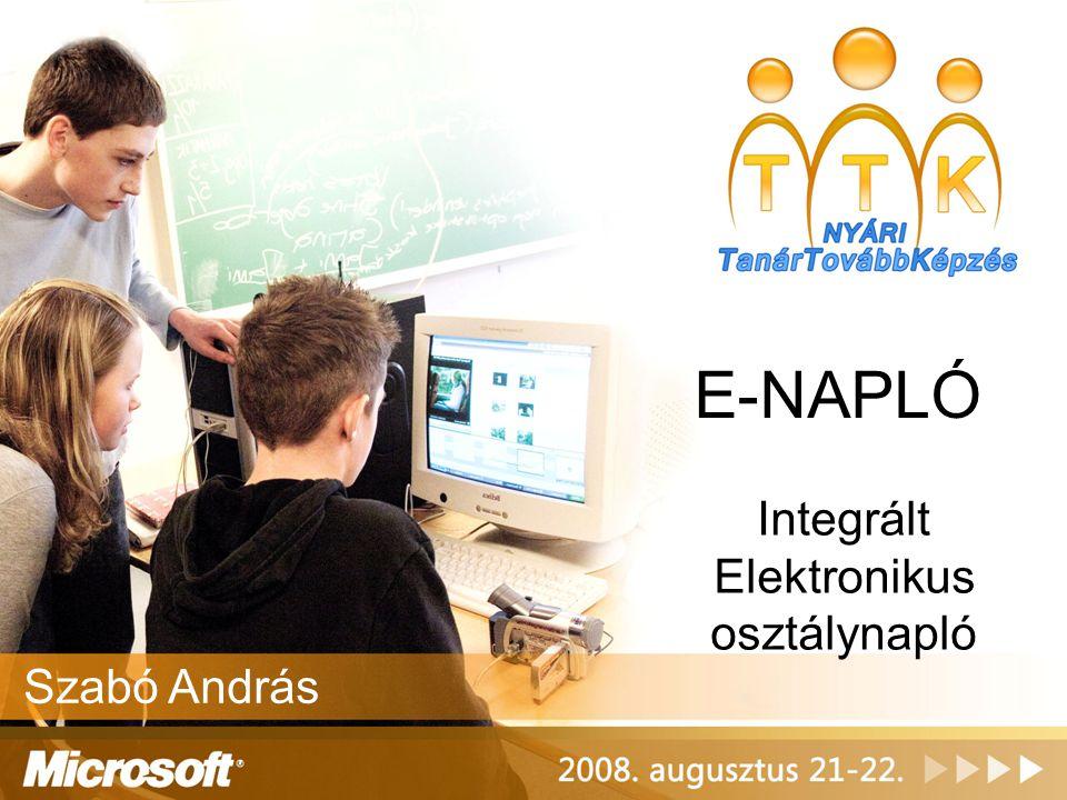 Integrált Elektronikus osztálynapló