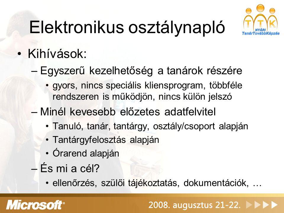 Elektronikus osztálynapló