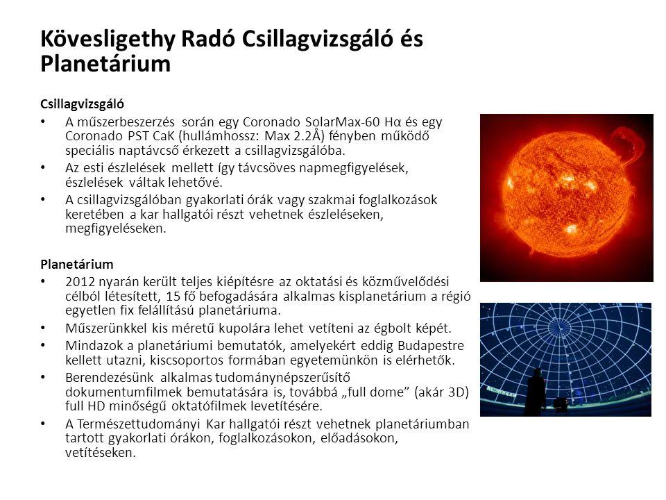 Kövesligethy Radó Csillagvizsgáló és Planetárium