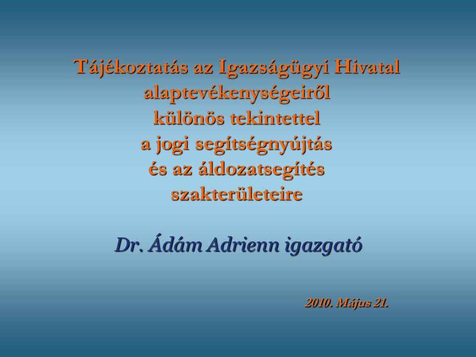 Dr. Ádám Adrienn igazgató