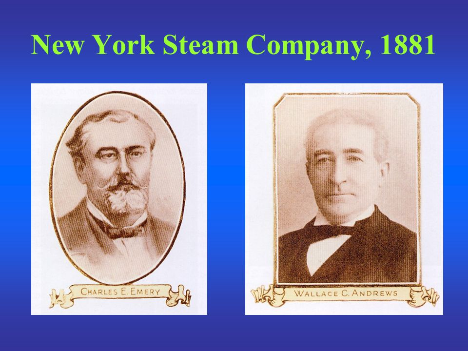 New York Steam Company, 1881
