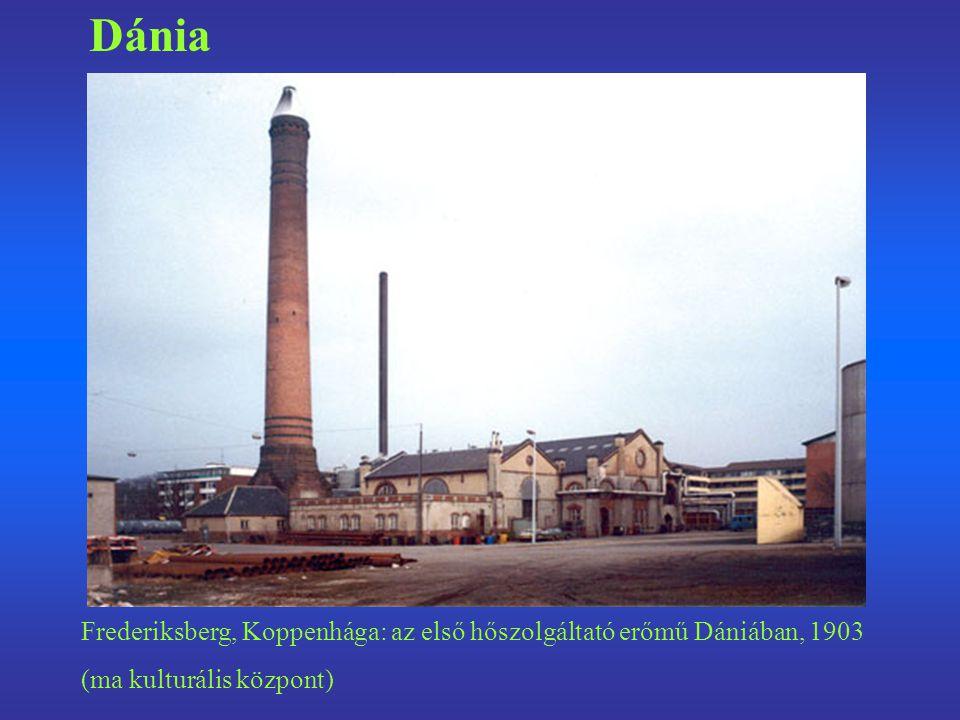 Dánia Frederiksberg, Koppenhága: az első hőszolgáltató erőmű Dániában, 1903 (ma kulturális központ)