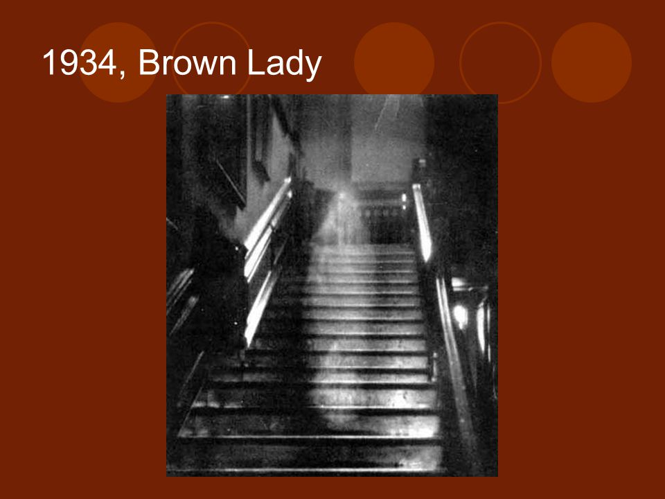 1934, Brown Lady