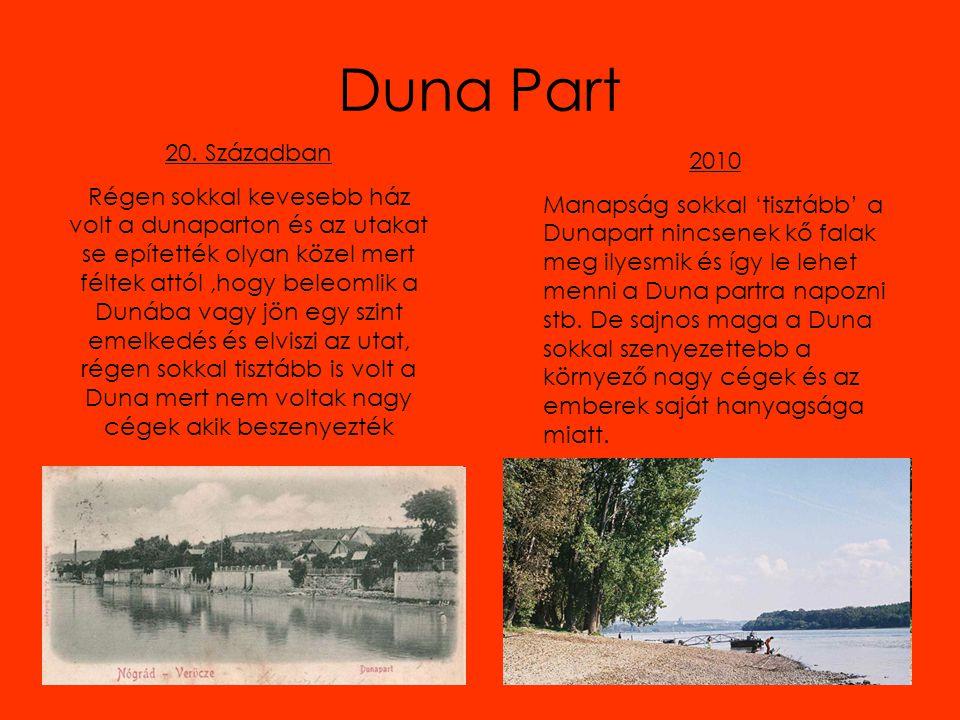 Duna Part 20. Században.