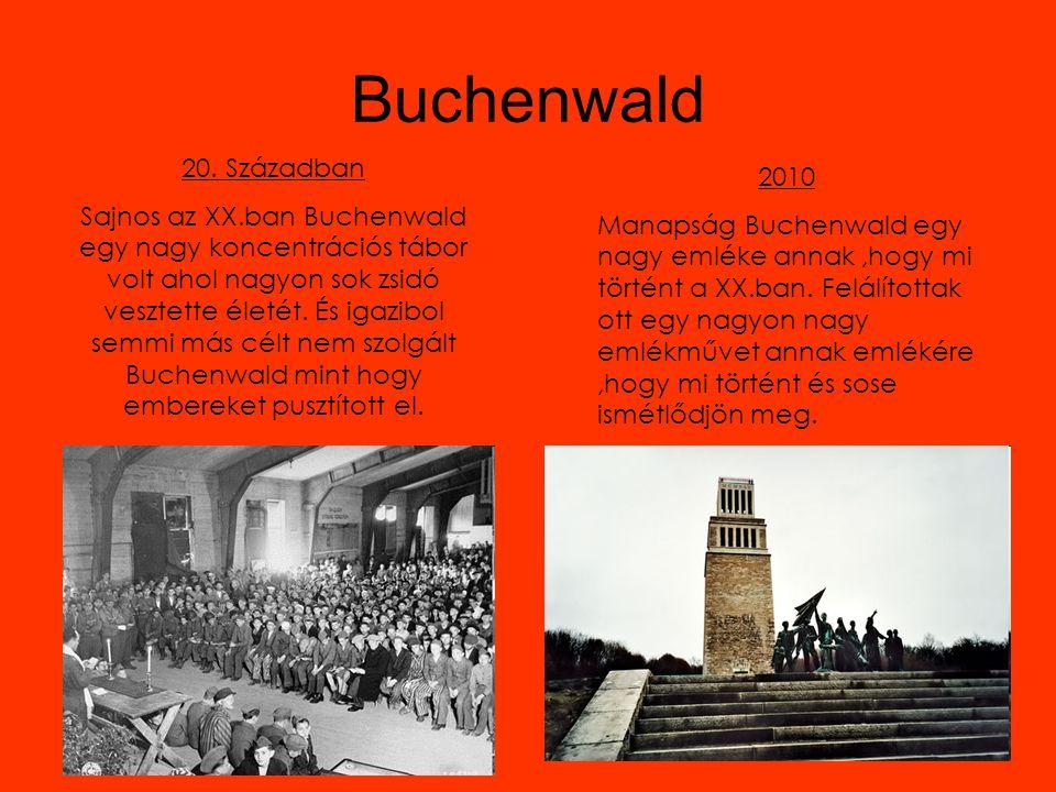 Buchenwald 20. Században.