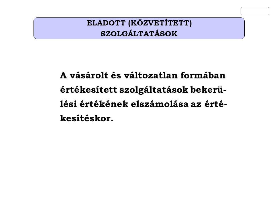 ELADOTT (KÖZVETÍTETT)