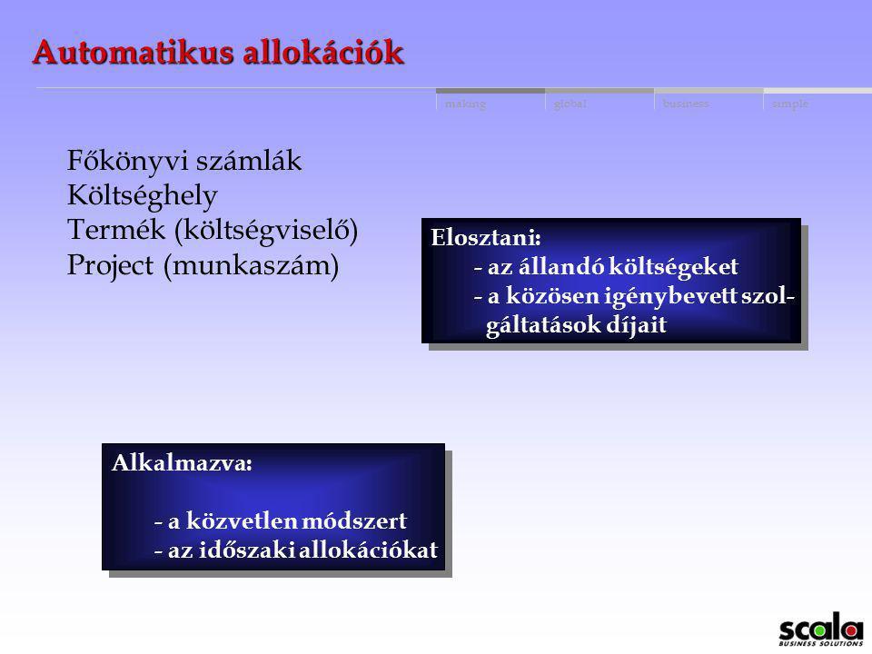 Automatikus allokációk