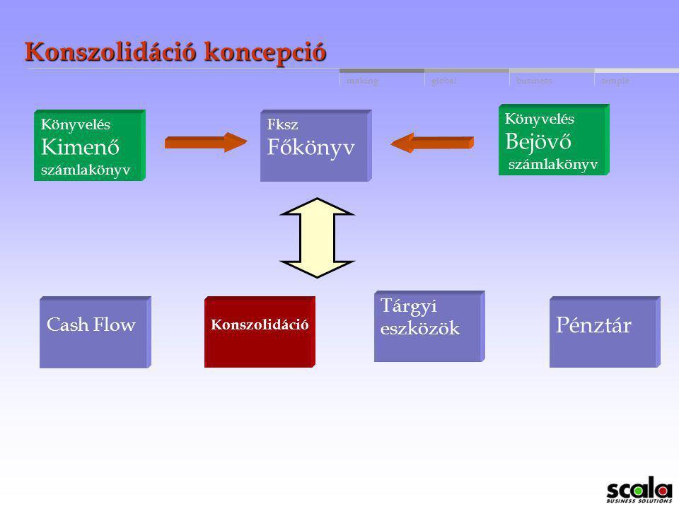 Konszolidáció koncepció