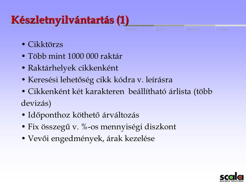 Készletnyilvántartás (1)