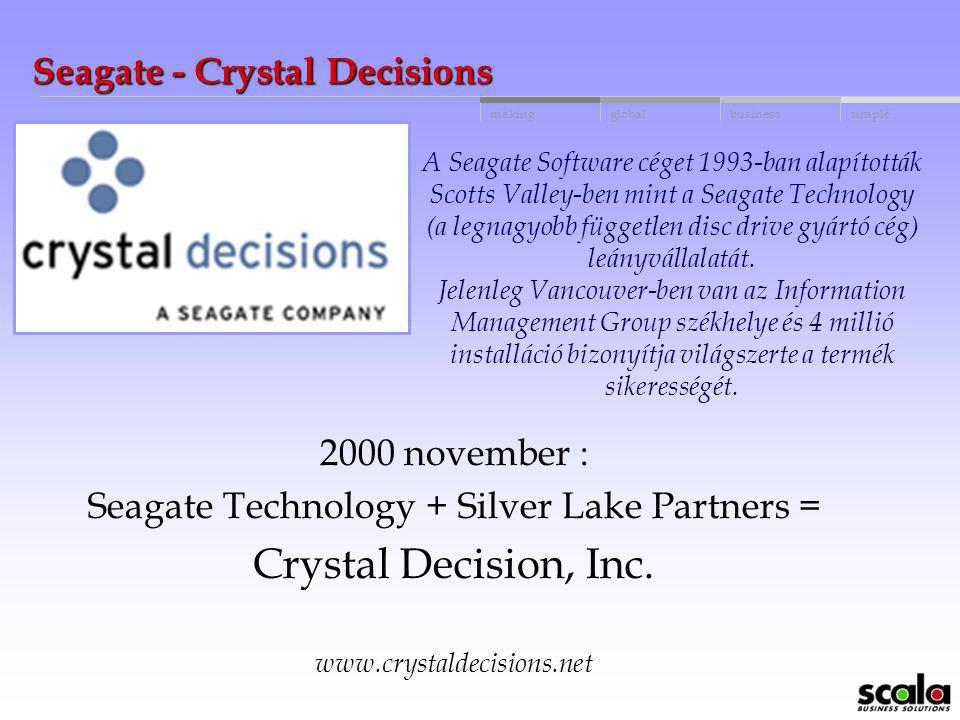 Seagate - Crystal Decisions