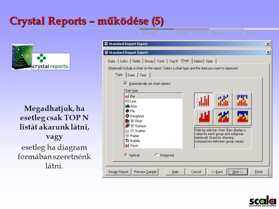 Crystal Reports – működése (5)