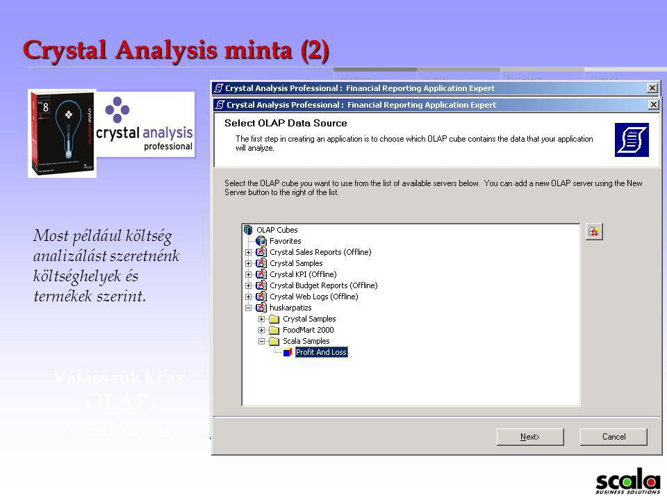 Crystal Analysis minta (2)