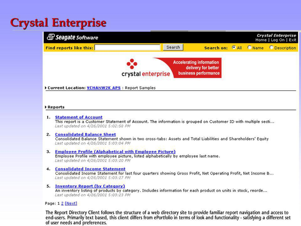Crystal Enterprise
