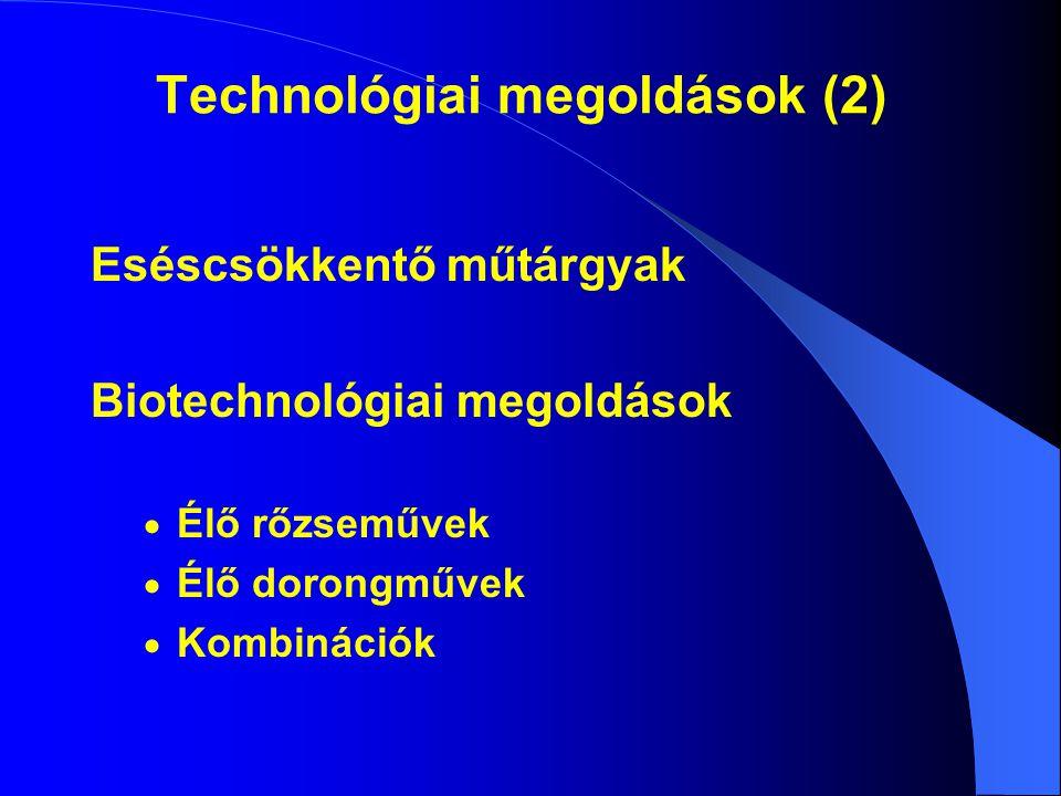 Technológiai megoldások (2)