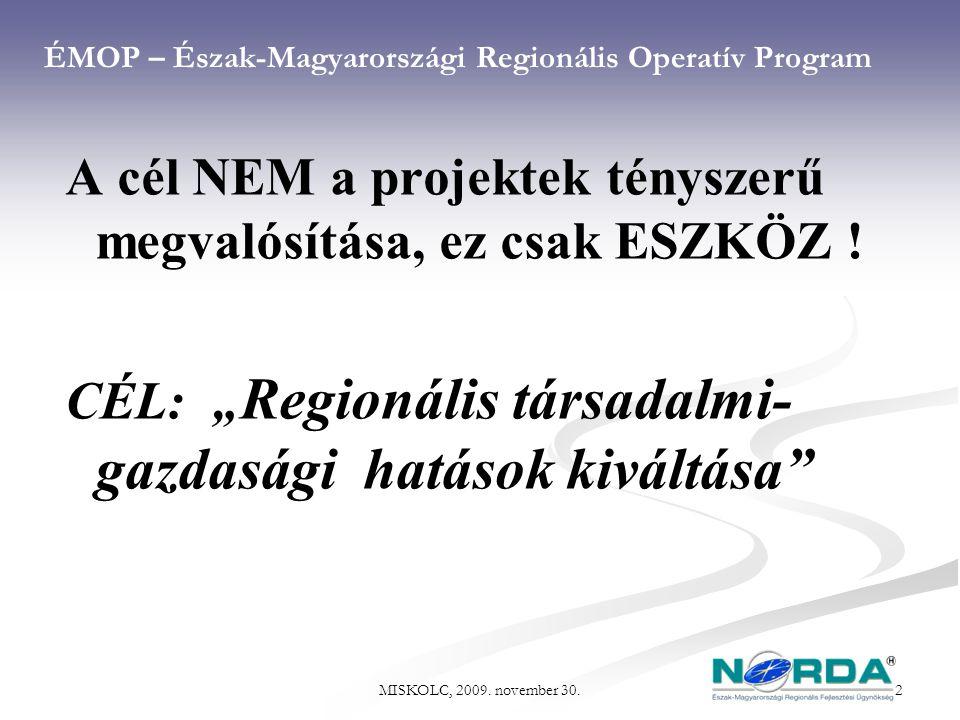ÉMOP – Észak-Magyarországi Regionális Operatív Program