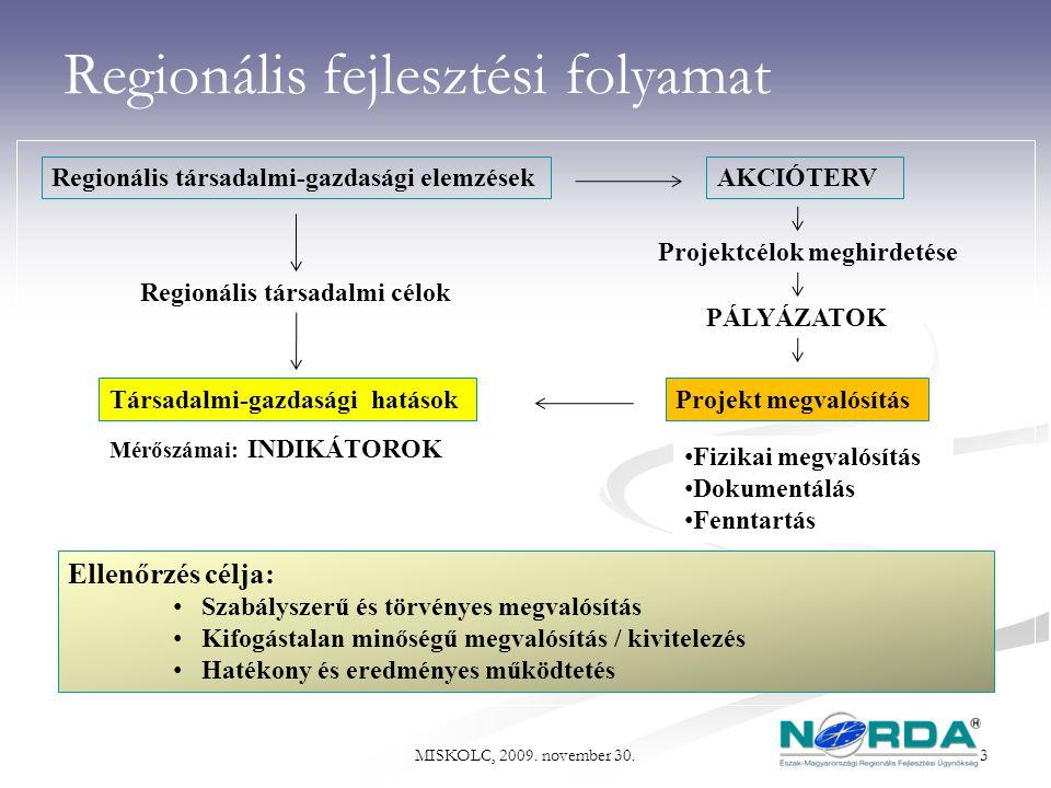 Regionális fejlesztési folyamat