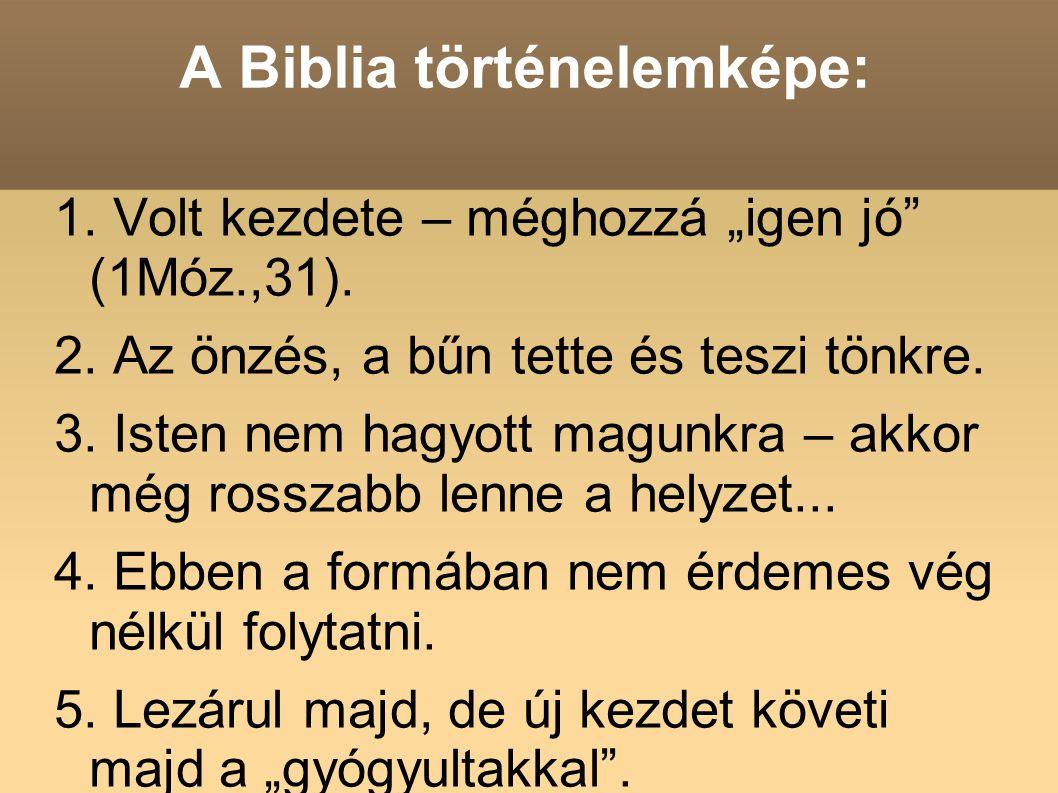 A Biblia történelemképe: