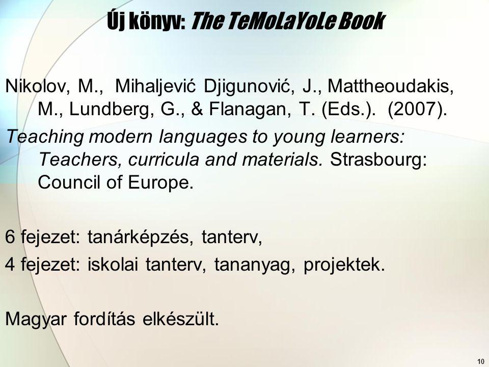 Új könyv: The TeMoLaYoLe Book