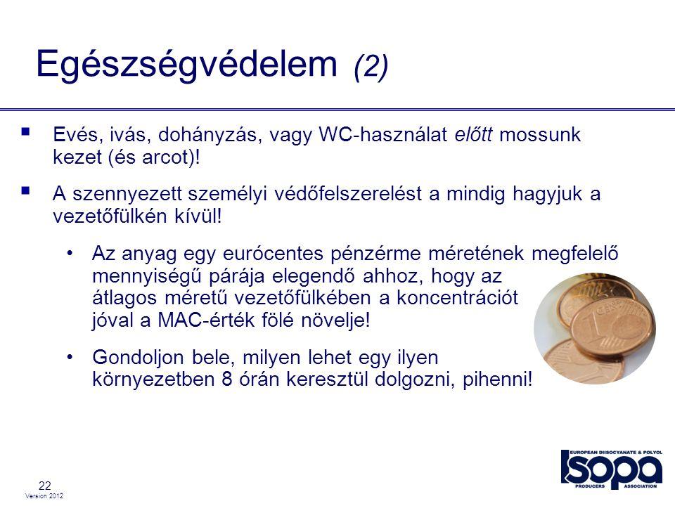 Egészségvédelem (2) Evés, ivás, dohányzás, vagy WC-használat előtt mossunk kezet (és arcot)!