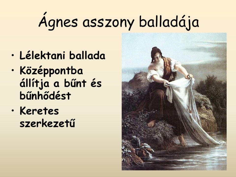 Ágnes asszony balladája