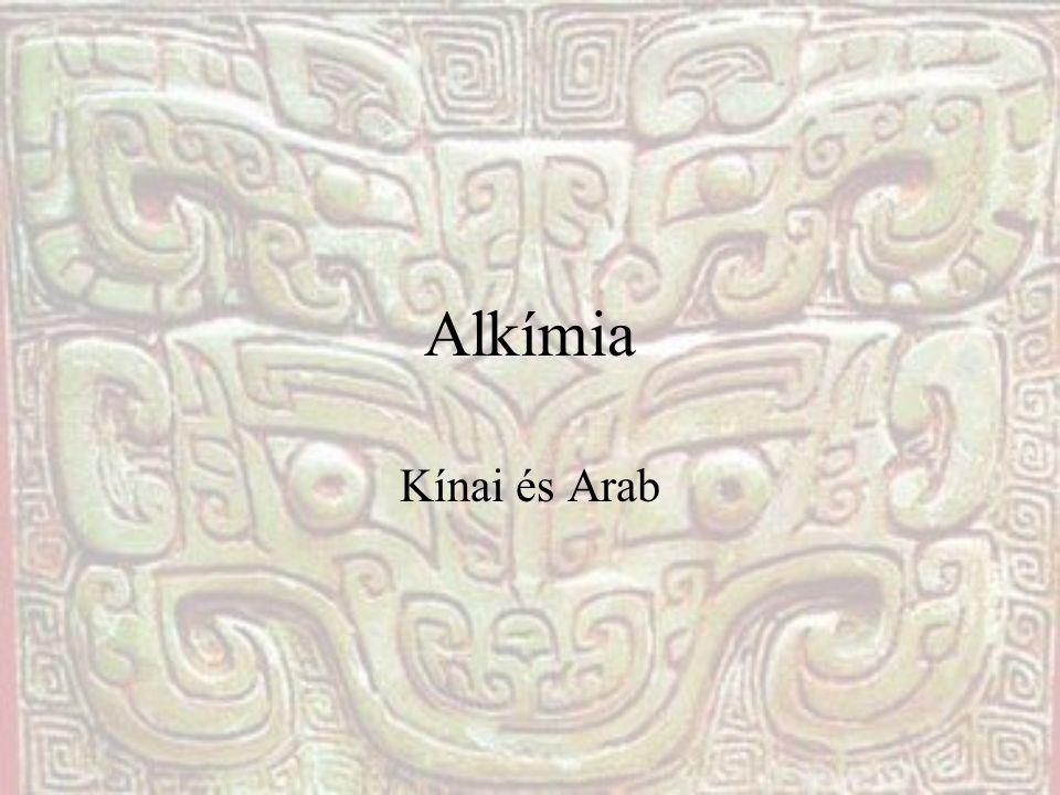 Alkímia Kínai és Arab