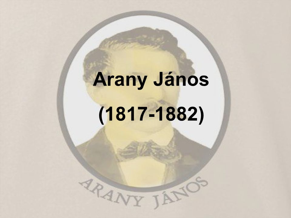 Arany János (1817-1882)